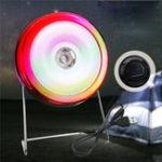 Оригинал 5W LED солнечный На открытом воздухе Кемпинг Лампа Hooking Сад Path Stage Light Party KTV