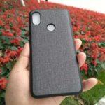 Оригинал BakeeyРоскошнаятканьPCBack+ Soft TPU Бампер защитный Чехол для Xiaomi Redmi Note 5