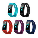 "Оригинал XANESY50,96""TFTIP67 Водонепроницаемы Smart Watch Сердце Рейтинг Монитор Фитнес Спорт Smart Bracelet"