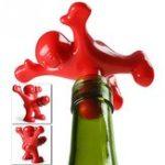 Оригинал KCASA2pcsFunnyHappyManGuy Wine Stopper Novelty Bar Набор Винная пробковая бутылка Винная пробка Перки Интересные подарки