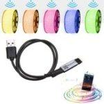 Оригинал LUSTREON Макс. 30 Вт мини-USB-блок питания Bluetooth APP Smart RGB LED Контроллер света полосы DC5V