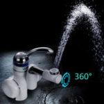 Оригинал 3000W Электрическая мгновенная кран горячей воды Нагреватель Смеситель кухонной системы Tap