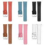 Оригинал Bakeey 18mm Замена Быстроразъемные кожаные наручные часы Стандарты Браслетный ремешок для Fitbit Versa