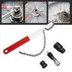 Оригинал BIKIGHT Ремонт мотоциклов Фиксированный Инструмент 4 в 1 Удаление оси MTB Инструмент Маховик Гаечный ключ Crankset Cycling Инструмент Kits