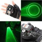 Оригинал Glove Swirl Laser Pointer 523nm перчатка с лазером