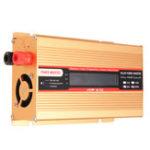 Оригинал DC12V / 24V до AC220V / 110V 1000W Солнечная Инвертор синусоидальной инверторной модификации LCD Напряжение Дисплей