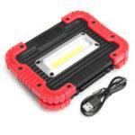 Оригинал 750LM10WНаоткрытомвоздухеКемпинг Tent Lantern Portable COB LED Work Light USB аккумуляторный фонарик Flood Лампа