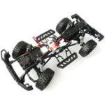 Оригинал HG P402 1/10 2.4G 4WD Колесный привод Roadster Climbing RC Авто Модернизация металлического корпуса