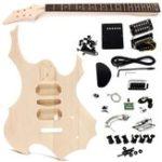 Оригинал DIY Электрическая гитара Basswood Wood Body Unfinished Набор Комплект с Шея String