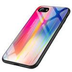 Оригинал ЛазерAuroraGradientЦветноетемноестекло Защитное Чехол для iPhone 7/8