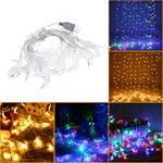 Оригинал 3M Форма USB Moon Sharm Warm White Colorful 20 LED String Fairy Light Свадебное Праздничный декор DC5V