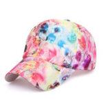 Оригинал Женское Летняя цветочная ткань Lace Baseball Cap