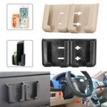 Оригинал Универсальные мощные липкие регулируемые двойные слоты Авто Подставка для держателя для iPhone для мобильного телефона
