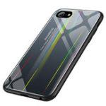 Оригинал ЛазерAuroraGradientЦветноезакаленноестекло защитное Чехол для iPhone 6/6s
