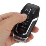 Оригинал 5 Кнопка Дистанционный Кнопка FOB Shell Чехол Uncut Blade для Ford Fusion Explorer Edge