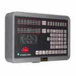 Оригинал 2 Axis DRO Цифровое считывание Дисплей Измеритель 2шт Linear Шкала для фрезерного станка