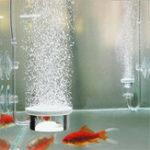 Оригинал Аквариум Bubble Air Stone Насос Hydroponics Диффузор Диск для аэратора для промывочного резервуара для рыбы