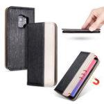 Оригинал BakeeyПремиуммагнитныйслотдлякарт памяти Kickstand Protective Чехол для Samsung GalaxyS9