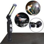 Оригинал XANESW549LED+COB5Modes 360 ° + 180 ° Складная головка Магнитный хвост USB аккумуляторная фонарик Work Light