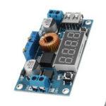 Оригинал DC To DC 12V Turn 5V Модуль сдвига с USB-портом Регулируемое напряжение тока 3A/5A Постоянный ток Стандарты Дисплей