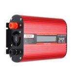 Оригинал DOXIN 1000W Пиковый преобразователь питания USB DC12V / 24V в AC220V / 110V Модифицированный преобразователь синусоидальной волны LCD Экран