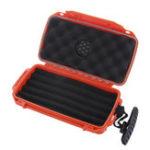 Оригинал 228x127x50mm Cigar Humidor Водонепроницаемы Коробка Портативное хранение Чехол