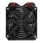 Оригинал 18 Трубы 120 240 Охлаждающая колонна 3.3cm Толщина Радиатор водяного охлаждения ЦП с DC 12V Fan