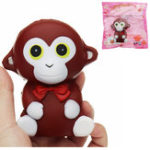 Оригинал Monkey Squishy 10.5 * 9 * 7CM Slow Rising Soft Коллекция игрушек для подарков из коллекции животных с упаковкой
