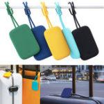 Оригинал Xiaomi90FUNцветfulСиликоновыйБагажнаябирка Портативная Чемодан Багаж Сумка с тегами Anti-lost Label На открытом воздухе Travel