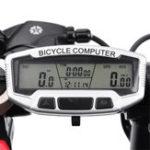 Оригинал Sunding Wireless Водонепроницаемы LCD Велосипед Велоспорт Компьютер Одометр Спидометр Подсветка