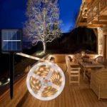 Оригинал ARILUX® 0.7W Солнечная Powered SMD2835 8 режимов RGB Теплый белый Водонепроницаемы LED Holiday Strip Light DC2V