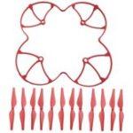 Оригинал Красочный защитный кожух защитной защиты с лезвиями пропеллеров 12Pcs для DJI Ryze Tello RC Drone Quadc