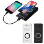 Оригинал Qi Powerseed Wireless Charging 7000mah Power Bank Батарея Зарядное устройство для IPhone 8 X Plus