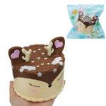 Оригинал Antler Cake Squishy Toy 11.5 * 12.5 CM Медленный рост с подарком коллекции упаковки