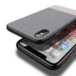 Оригинал CafeleДеловойхолстАнтиОтпечатокпальца Защитный Чехол Для iPhone X
