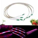 Оригинал 4 шт. 20 Вт 36 LED Светлая полоса света: синий 4: 1 Водонепроницаемы LED Растение Свет EU / US Штекер AC100-240V