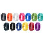 Оригинал Bakeey Замена Soft Силиконовый Наручные часы Стандарты Ремень для Garmin Vivofit 3