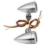 Оригинал Пара 10 мм мотоцикл LED Тормозные огни поворота для индикаторов Harley Cruiser Chopper
