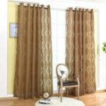 Оригинал ВолнистыезанавескиBubbleШаблонОконнаясетка Home Decor Through Rod Curtain Cut Flowers