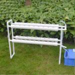Оригинал 2-слойный гидропонический рост Набор 36 Сайты Ebb Flow Deep Water Culture DWC Planing Сад Овощная система