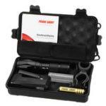 Оригинал XANESA100XM-LT6800Lumens5Modes Яркость Zoomable Tactical LED Костюм фонарика и съемный велосипедный фонарь с ручкой
