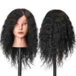 Оригинал 48см 100% Человек Волосы ВолосыРазница манекена