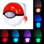 Оригинал 8-цветноебезопасноенадежноедвижениетелаДатчик Автоматический туалетный туалет LED Night Light Лампа Для Ванная комната Крышка