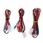 Оригинал Lerdge® 30/70 / 100cm 17AWG Провод горячей линии для горячей прокладки Soft Силиконовый Кабель питания для 3D-принтера Lerdge-X Board