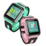 Оригинал Bakeey Y12 1.44 'GPS Ttacker LBS Location Voice Chat SOS Call Фонарик Дети Дети Smart Watch