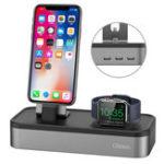 Оригинал Oittm US Штепсель 5 портов Зарядное устройство для док-станции для телефона с телефоном Apple Watch Series 3/2/1/iPhone X/Samsung