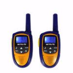 Оригинал 2штRetevisRT3122канала462-467MHz LCD Дисплей Mini Handheld Two Way Радио Walkie Talkie Kids
