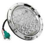Оригинал 75W IP67 6500K 5DLens 7Inches мотоцикл Нержавеющая сталь LED Фары Высокий / Низкий луч