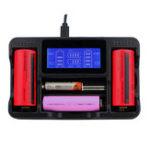 Оригинал Seiwei YS-4 4 Слот Lii AA AAA Ni-MH Lithium Smart LCD 18650 22650 26650 18650 18350 14500 Перезаряжаемый Батарея Зарядное устройство