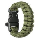 Оригинал Браслет выживания Paracord Bracelet Paracord Bracelet Emergency EDC 7 Cores Bracelet